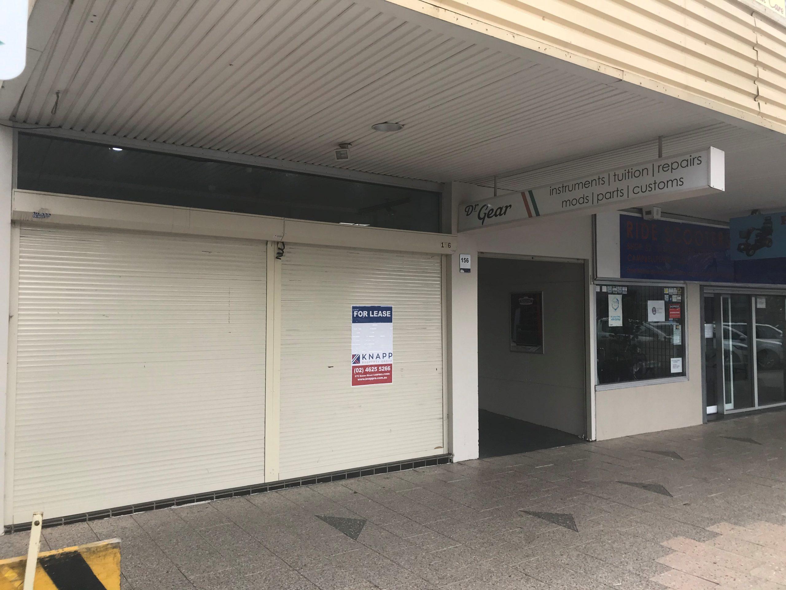 Shop 1, 156 - 168 Queen Street, Campbelltown NSW 2560