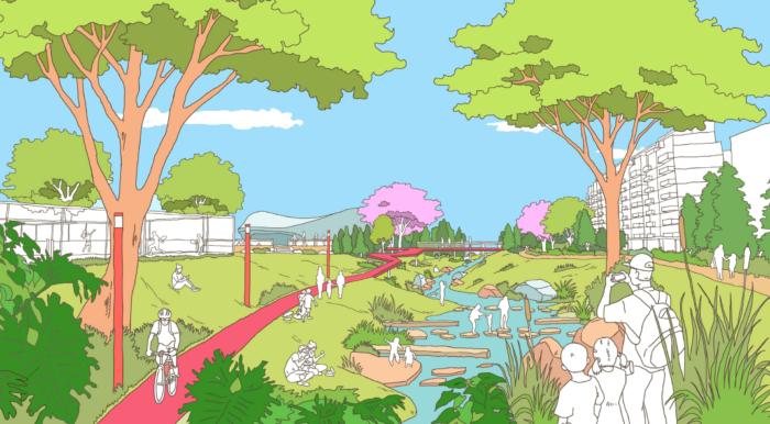 Reimagining Campbelltown City Centre Wins Planning Award